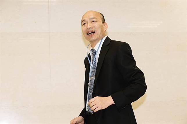 高雄市長韓國瑜。(中時資料照片)