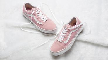 以粉紅帶出輕甜優雅 – Vans Old Skool Pink 登場