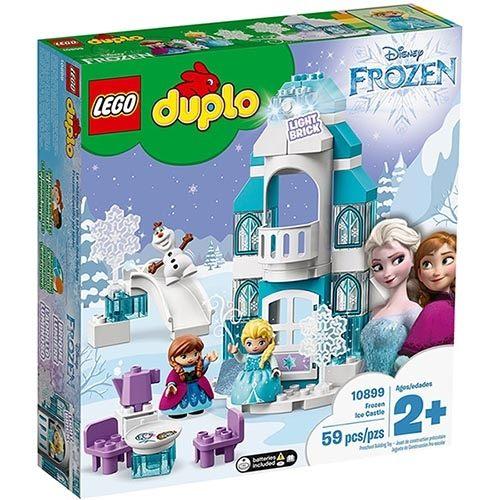 樂高積木 LEGO《 LT10899 》 Duplo 幼兒系列 - Frozen Ice Castle ╭★ JOYBUS玩具百貨