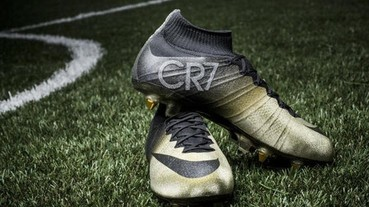 NIKE 推出 MERCURIAL CR7 珍貴黃金戰靴向 CRISTIANO RONALDO 致敬