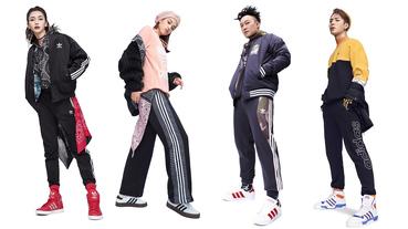 官方新聞 / adidas Originals 延續原創 由亞太巨星聯手演繹冬日造型