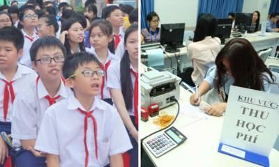 TP.HCM: học phí giảm mạnh từ học kỳ 2 năm học 2018 – 2019