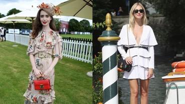 加條「腰帶」成為今年連身裙最流行的穿法!