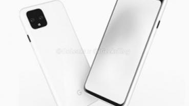 大小雙機都有高額頭,Google Pixel 4 最新造型情報圖亮相