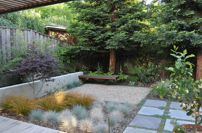 6 Desain Landscape Taman Di Hunian Kecil Kesejukannya