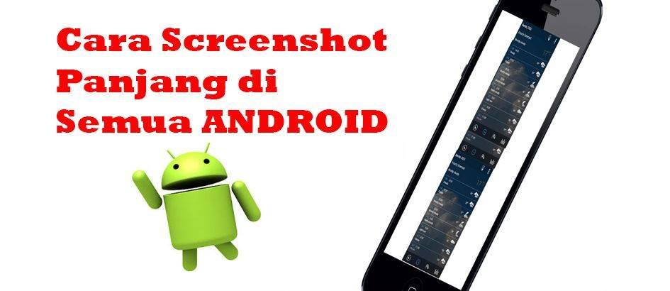 Begini Cara Screenshot Panjang Di Semua Android Jalantikus Com Line Today