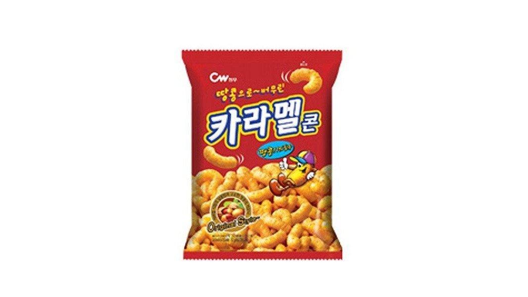 【瘋零食】焦糖風味玉米點心
