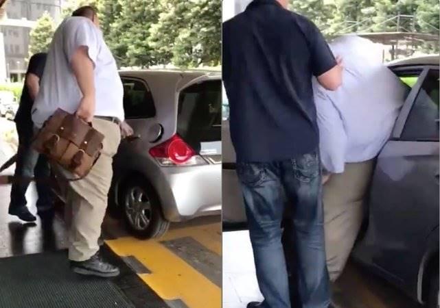 Viral Bule Bertubuh Besar Pesan Taksi Online, Saat Mau Masuk Jadinya Begini