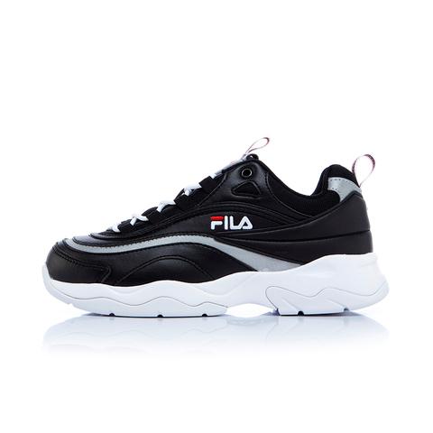 FILA RAY中性復古運動鞋(老爹鞋)-黑 4-C614S-001
