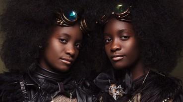 黑人頭也可以有這麼絢麗的變化,精選超美髮型 TOP.10