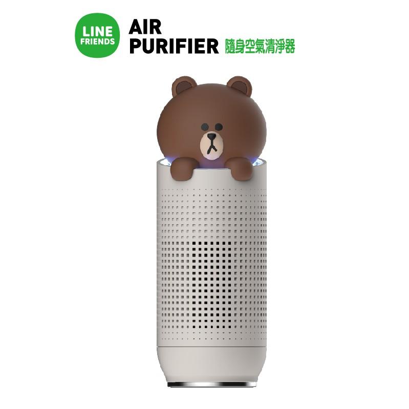 熊大隨身空氣清淨器型號:HB-LPBR1LINE最新款可愛爆表的空氣清淨器, 不僅清淨空氣, 還能淨化心情1. 高性能BLDC馬達2. 渦輪葉片3. 四層過濾系統4. USB連接5. 過濾網更換提醒6. 保固1年7. 韓國設計製造原裝進口#LINE #LINEFRIENDS #空氣清淨機 #熊大 #Brown