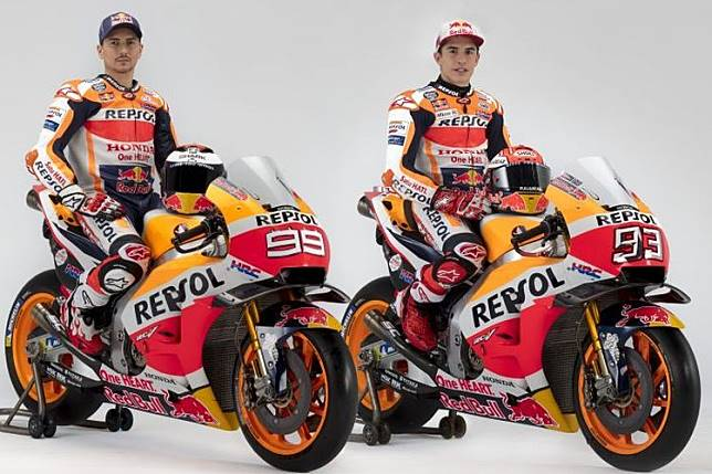 Galeri Foto – Potret Marquez dan Lorenzo Jelang MotoGP 2019 Dimulai