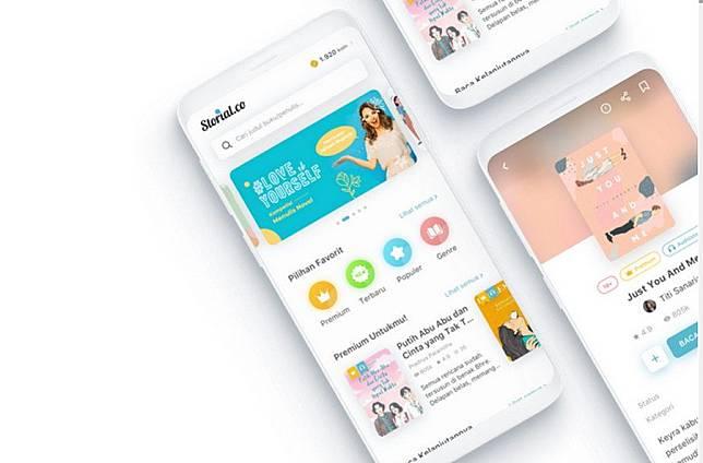 Storial.co adalah platform untuk membaca novel online dan mengunggah cerita