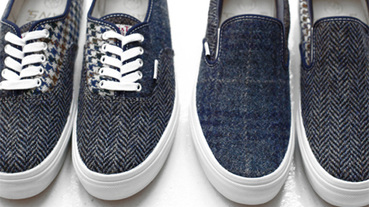 "日本 Beauty & Youth X VANS ""Harris Tweed Pack"" 秋冬系列"
