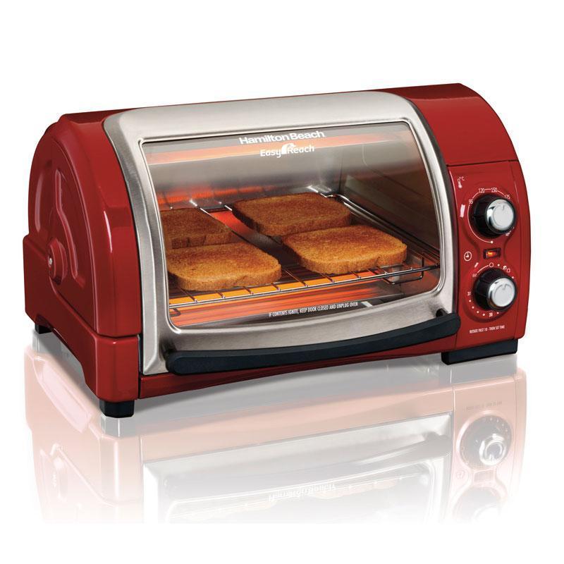 產品特色 美國百年廚房小家電第一品牌 可容納 9 吋披薩、4 片土司;120° 可視窗口,方便隨時觀看烹煮過程 不佔空間上掀蓋設計,可拆洗,好清洗不殘留;附烤盤、烤架、集屑盤 95℃ ~ 230℃ 烘
