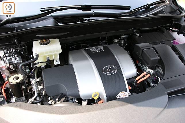 313ps的總馬力輸出,來由自3.5L V6引擎及前、後電動馬達組成的油電混合動力系統。(盧展程攝)