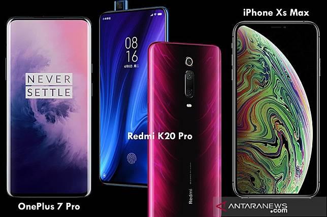 Pilih mana, Redmi K20 Pro, OnePlus 7 atau iPhone Xs Max?