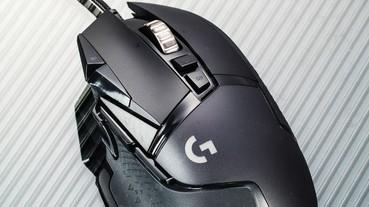 Logitech G502 Hero- 精準度再提昇的經典電競鼠