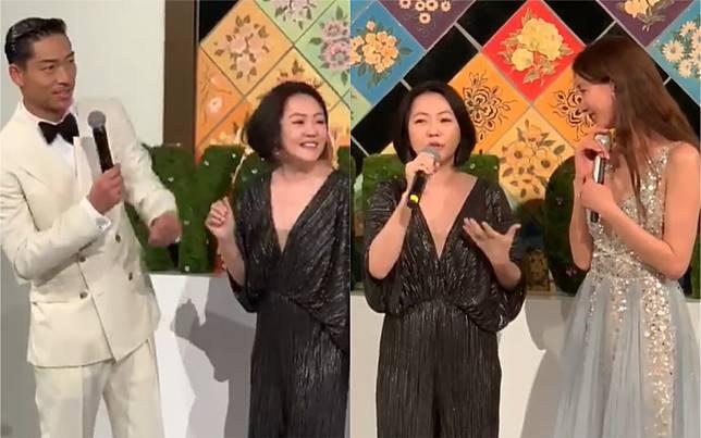 ▲被小S問AKIRA的私秘問題,林志玲巧妙接招。(圖/臉書)
