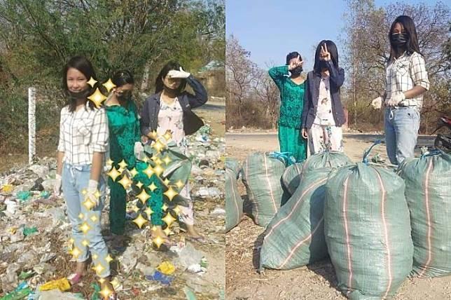Viral di Media Sosial aksi #ChallangeforChange aksi membersihkan sampah