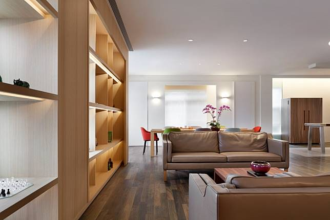 暖暖的客廳