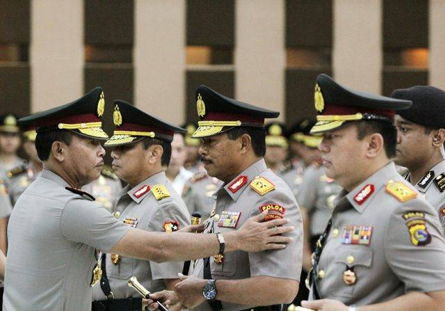 Mutasi Besar-besaran, Kapolri Idham Azis Promosikan 47 Jenderal