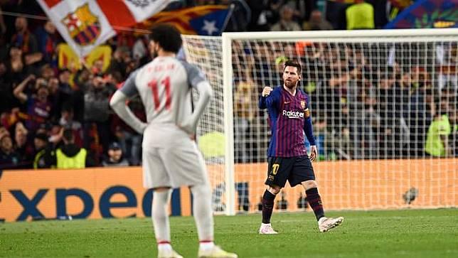 Messi Minta Barcelona Bajak Mohamed Salah