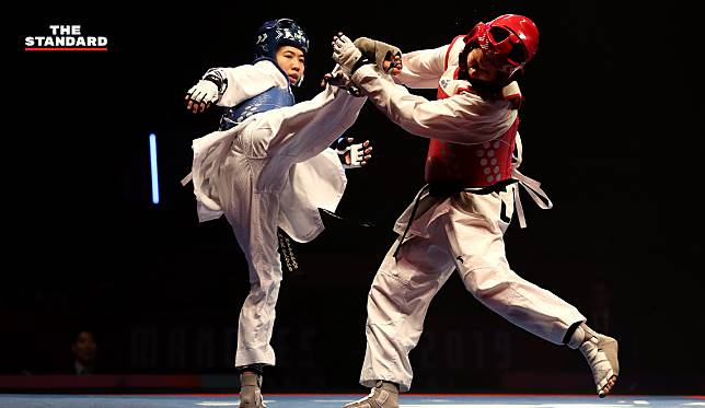 'เทนนิส' คว้าแชมป์โลกเทควันโดรุ่น 49 กก. หลังชนะอดีตแชมป์โอลิมปิกขาดลอย 21-6