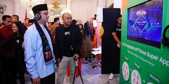 Gojek X Pemprov DKI Jakarta. ©2019 Merdeka.com