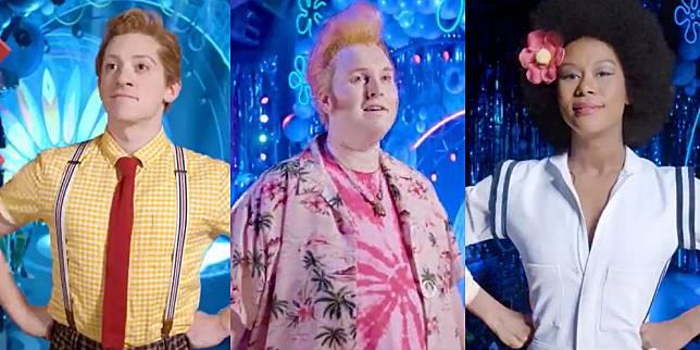 Karakter Spongebob Squarepants, Patrick, dan Sandy Cheeks (Foto: Nickelodeon)