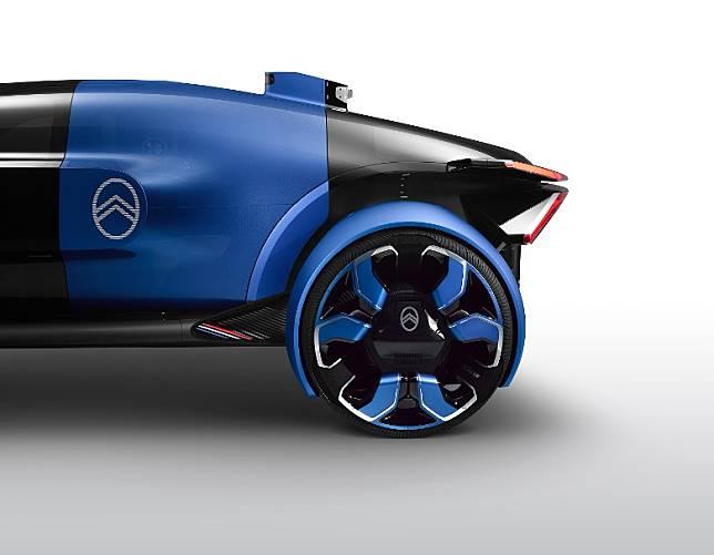 輪胎及輪圈由Goodyear特別打造,設計獨特。(互聯網)