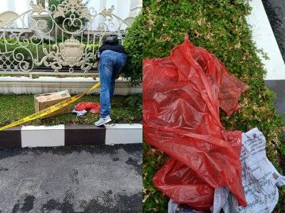 Sedang Kutip Sampah, Petugas Kebersihan ini Malah Temukan Mayat Bayi Didalam Plastik Merah