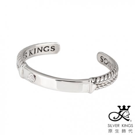 原生飾代SilverKings 幸福枷鎖 316L白鋼手環(女)中(約5.8cm)
