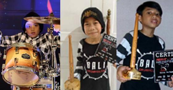Sabet Juara Nasional dan Asia, Jago Solo Drum Junior Bali Bermunculan