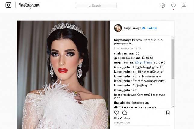 Image Result For Royal Wedding Tasya Farasya