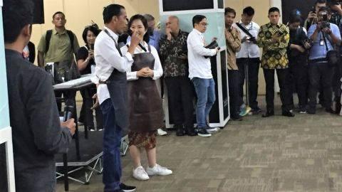 Cerita Jokowi Pernah Remehkan Usaha Pisang Nugget Kaesang