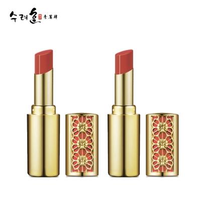 秀麗韓 妍珍珠絲絨潤唇膏 02潤紅色x2(劇照使用款)