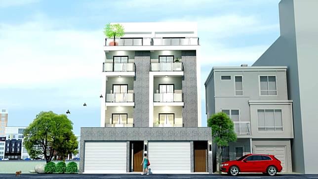 別墅的3D設計圖