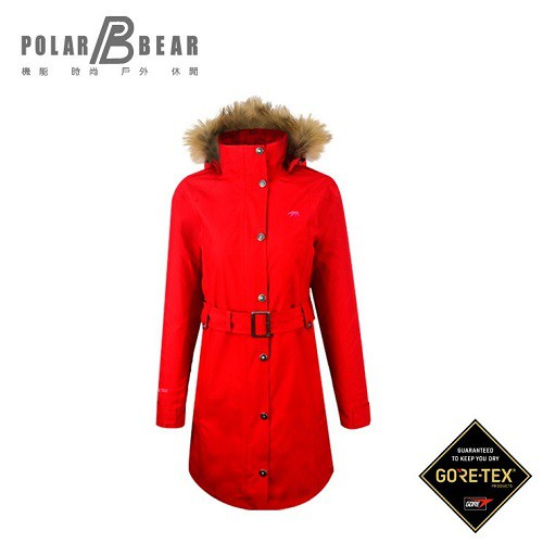 【POLAR BEAR】女GORE-TEX 2合1大衣-16J27