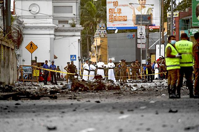 SRI LANKA-ATTACKS