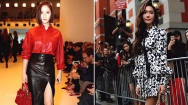 韓國最美姊妹花!Krystal《最新穿搭》與姐姐 Jessica 同遊米蘭時裝周!