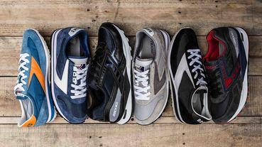 專業基因與生活風格的共演 / BROOKS Heritage 復古跑鞋系列