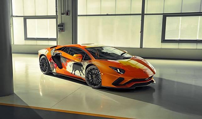 Modifikasi Lamborghini Aventador S jadi kanvas berjalan