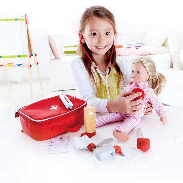 網易嚴選醫生過家家套裝兒童男孩女孩護士聽診器工具箱玩具醫療