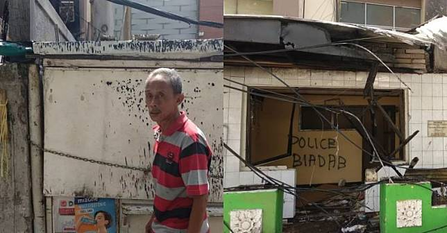 Kisah sedih Usma, kiosnya ludes dijarah para perusuh Aksi 22 Mei