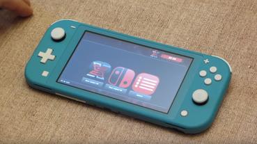 Nintendo Switch Lite 被成功被破解!team-xecuter 釋出展示影片,預計明年初開賣