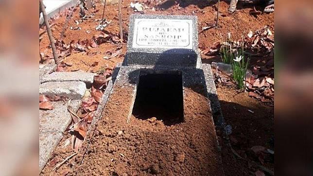 Misteri Pembongkaran Makam Di Pakemitan Tasikmalaya Terungkap