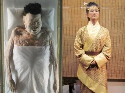 Mumi Bangsawan Tiongkok Ini, Masih Bisa Diotopsi Setelah 2.100 Tahun