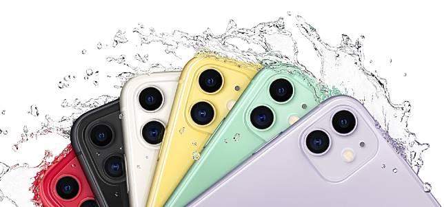 ▲蘋果於發表會上介紹最新機 iPhone 11 系列。(圖/取自蘋果官網)