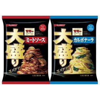 日清 大盛りスパゲティ ミートソース/カルボナーラ